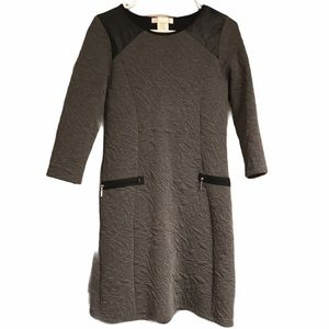 Papillonblanc gray quilted dress small